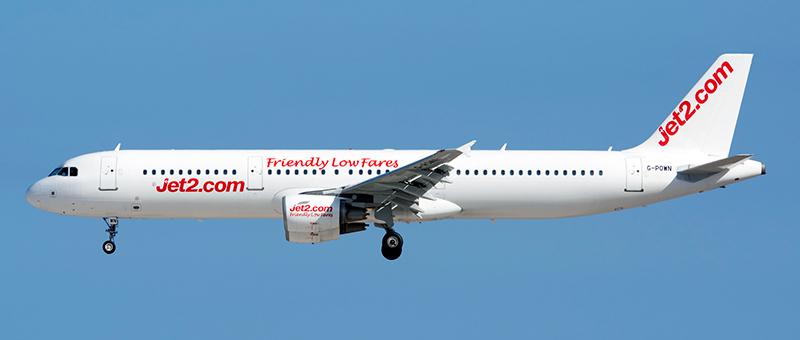 Airbus A321-200 Jet2Com. Photos and description of the plane