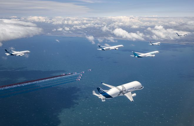 Airbus celebrated 50th anniversary