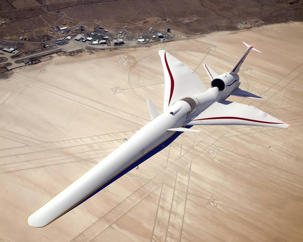 Revolution in aviation: NASA showed the interior of their new supersonic airplane
