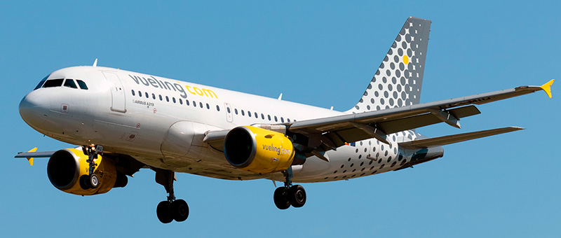Airbus A319-100 Vueling. Photos and description of the plane