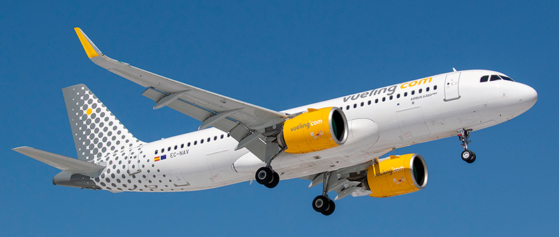 Airbus A320neo Vueling. Photos and description of the plane