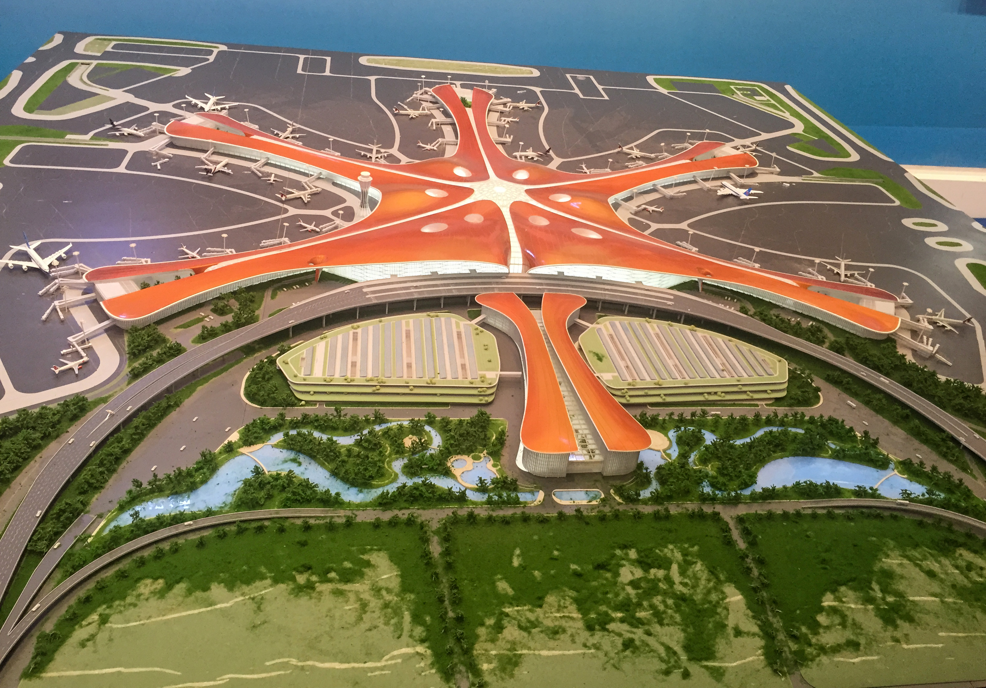 The biggest airport in the world was built in China