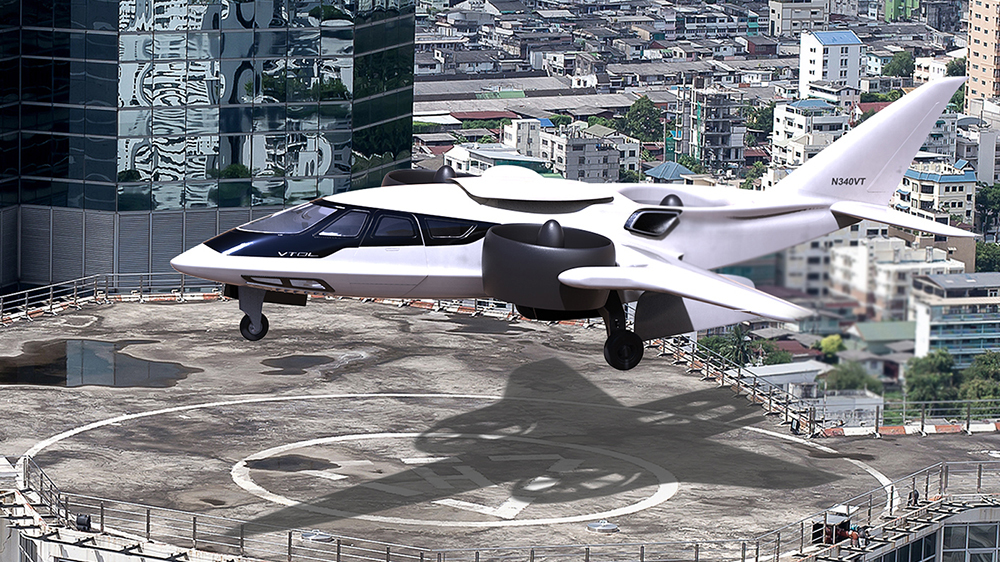 Three-fan hybrid airplane will get turbo-prop engine