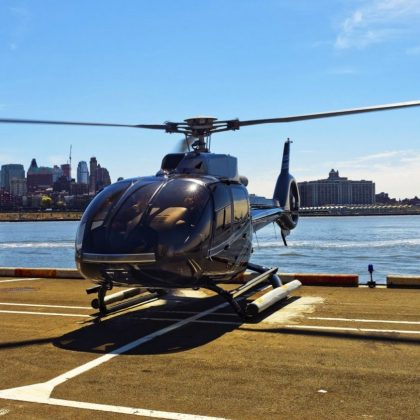 Uber launched helicopter taxi in New York
