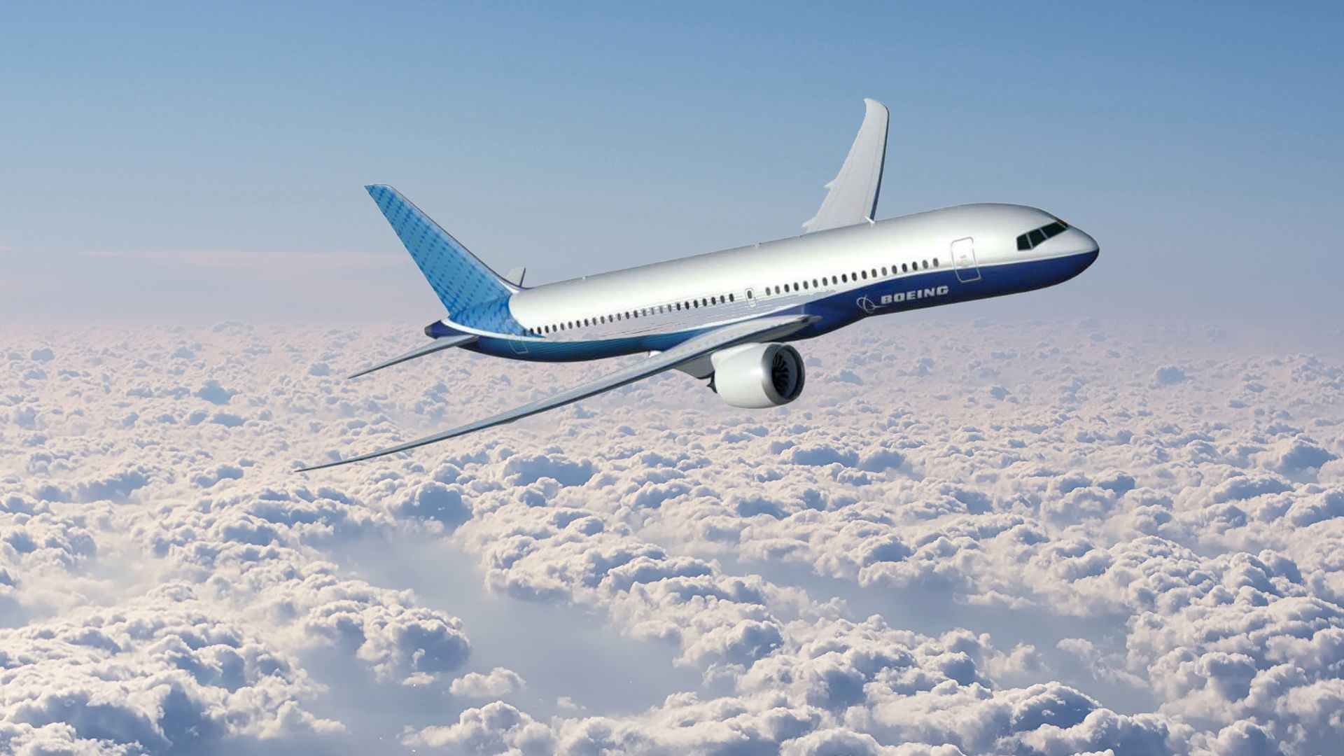 New Boeing airplane