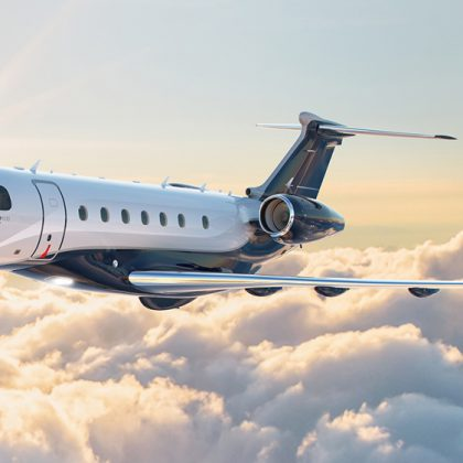 Embraer certified new business-jet Praetor 500