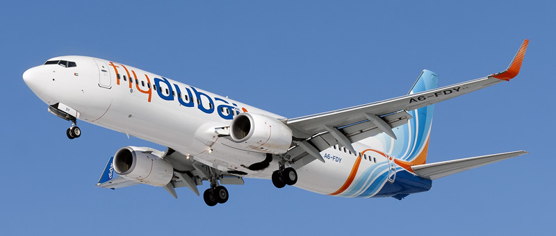 Seat map Boeing 737-800 FlyDubai. Best seats in the plane