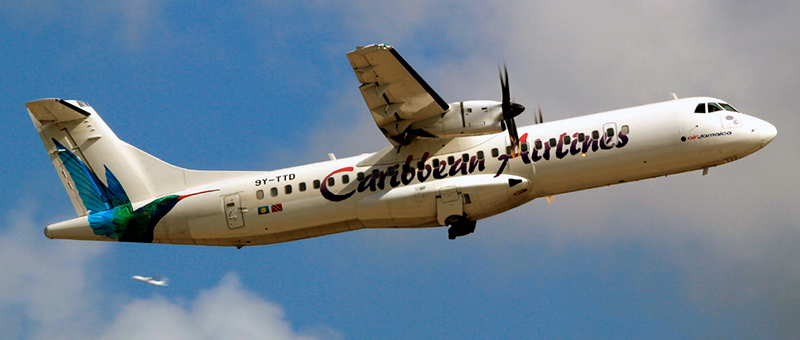 ATR 72-600 Caribbean Airlines. Photos and description of the plane