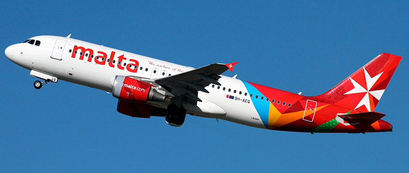 Airbus A320 Air Malta. Photos and description of the plane
