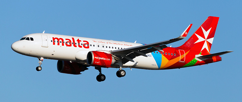 Airbus A320neo Air Malta. Photos and description of the plane
