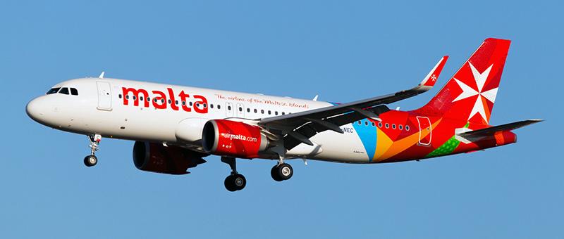 Airbus A320neo Air Malta. Photos and description of the plane