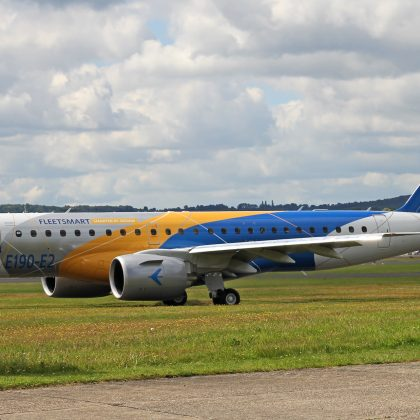 Embraer will reduce gradually production of airplanes E190/195-E1