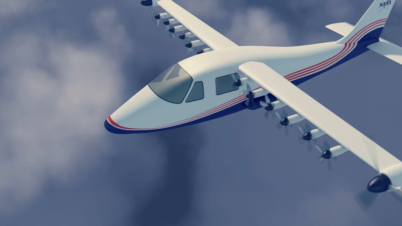 NASA presented first electric airplane