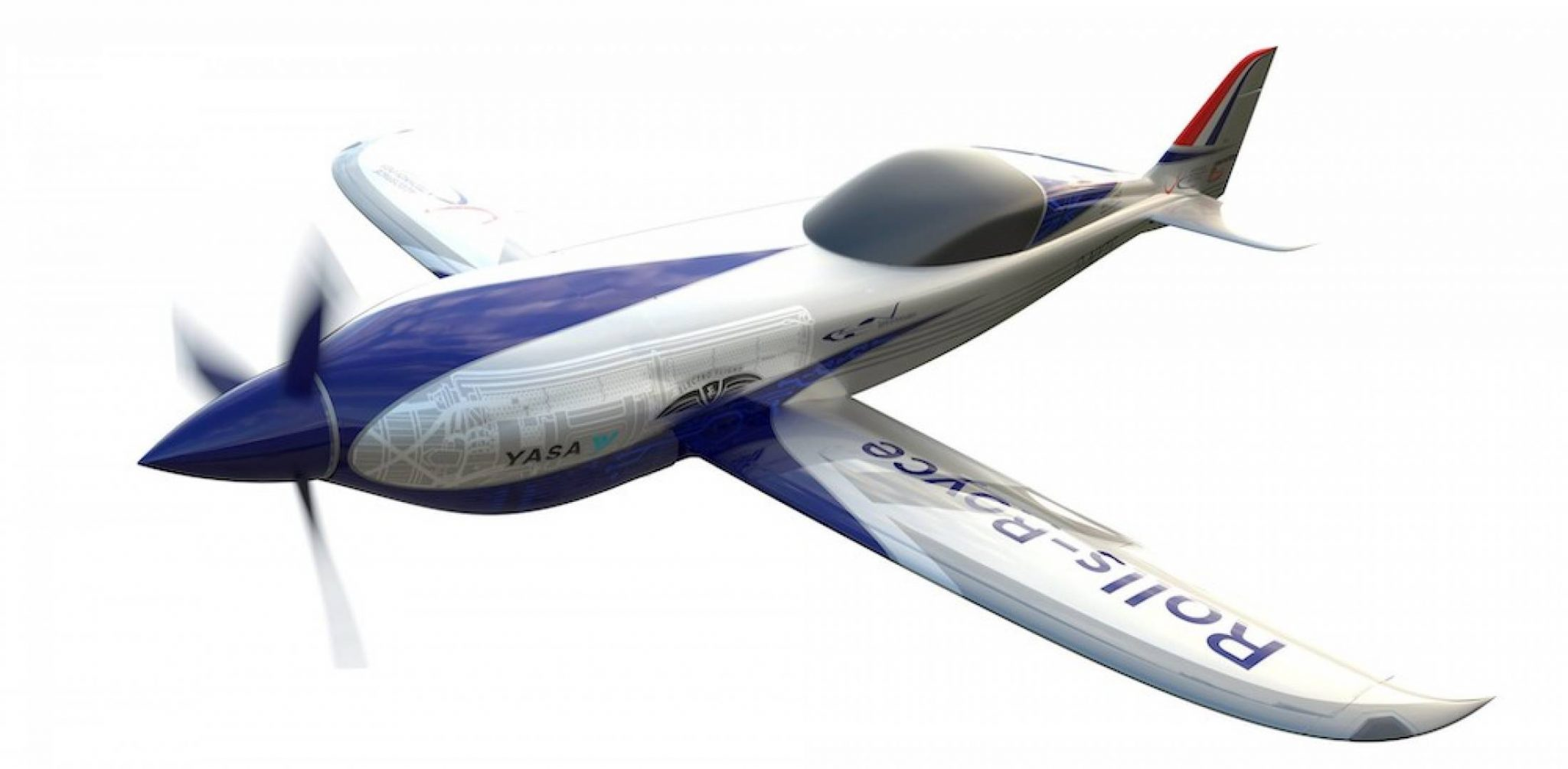 Rolls-Royce presented electric airplane for speed record