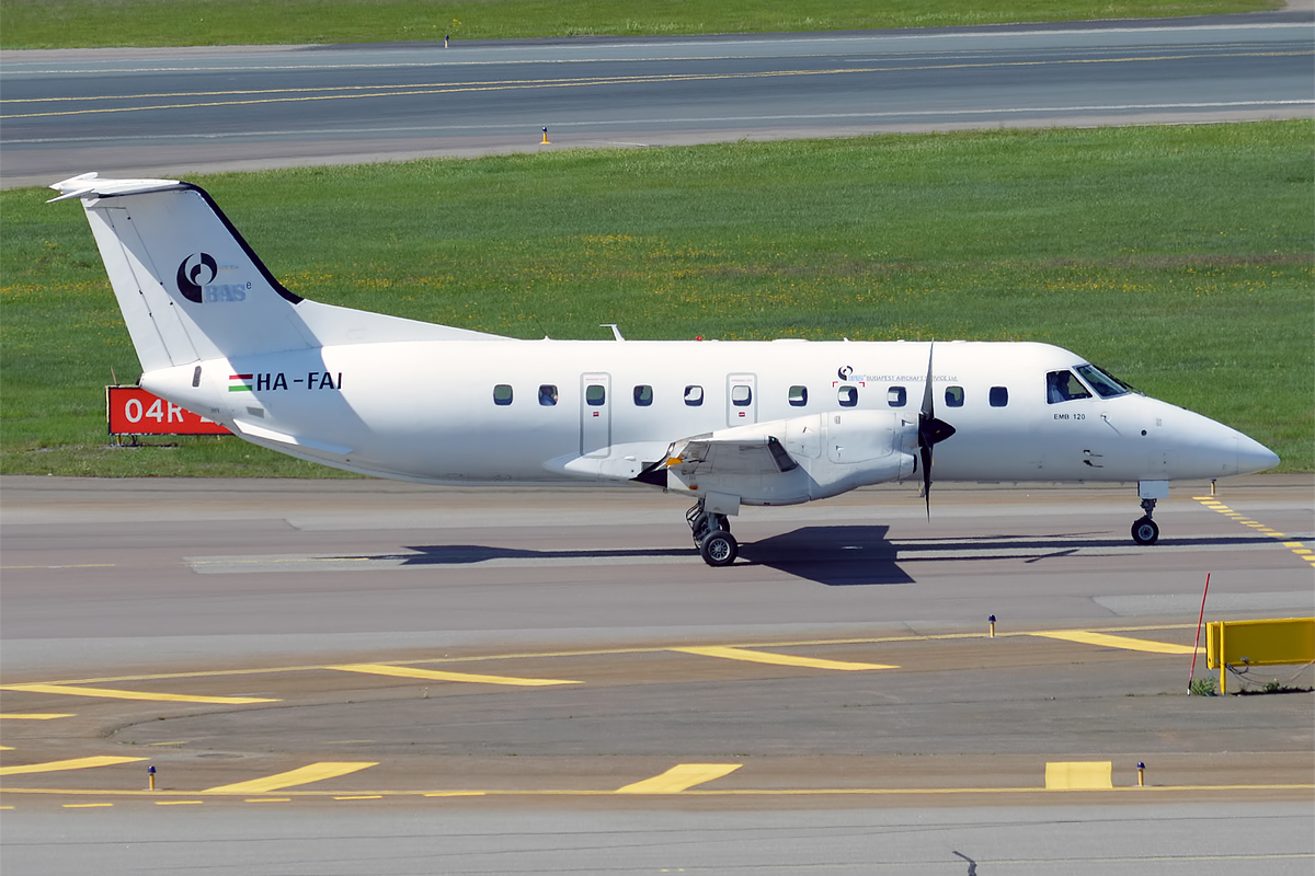 Embraer engineers light transport airplane