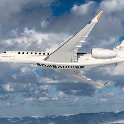 Bombardier Global 7500 turns into Opera theater