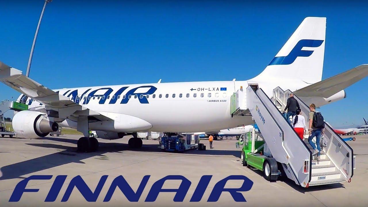Crew member of Finnair airplane fell out the liner in Helsinki airport