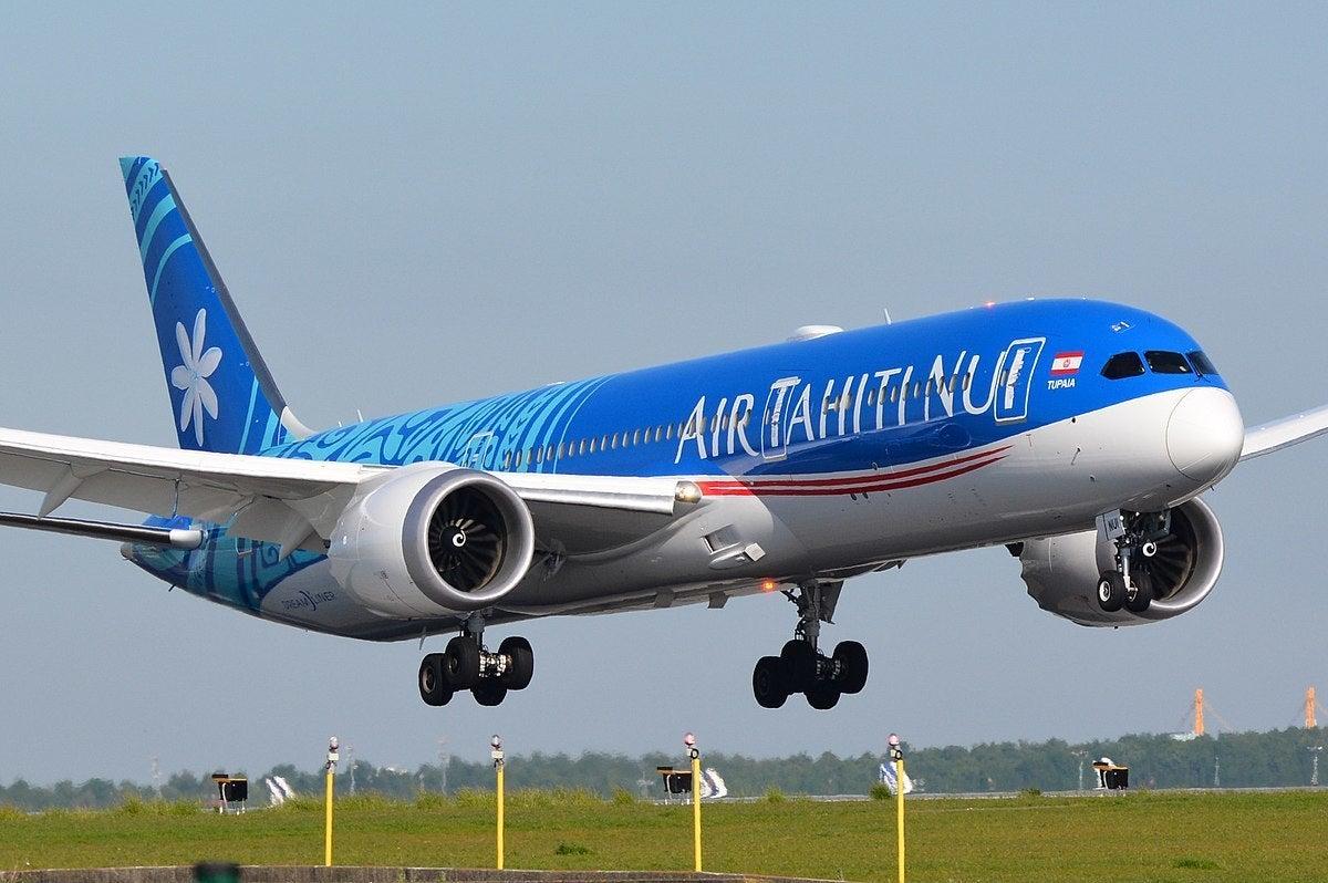 Air Tahiti flight became the longest in entire because of corona-virus