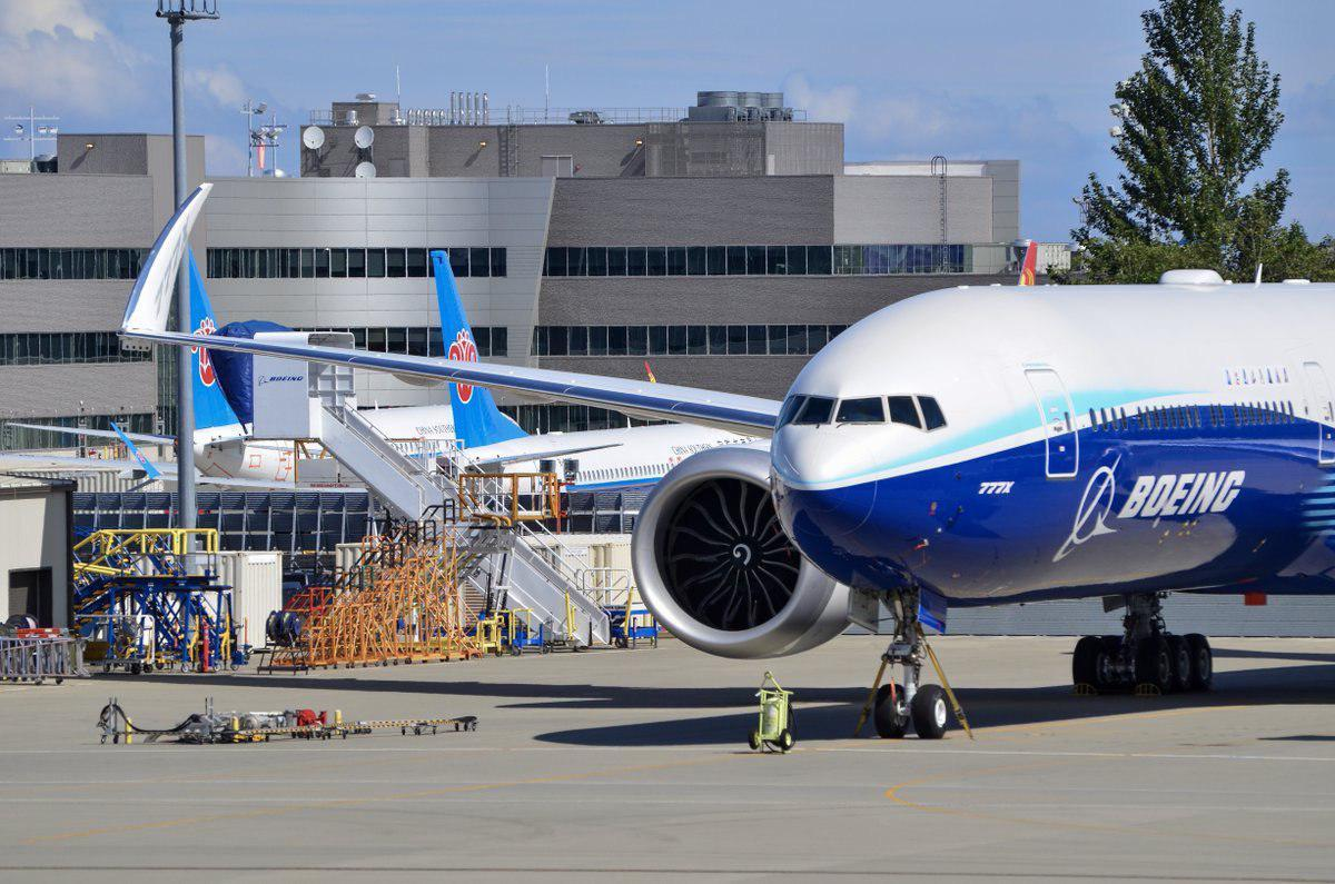 Boeing took off second airplane 777X