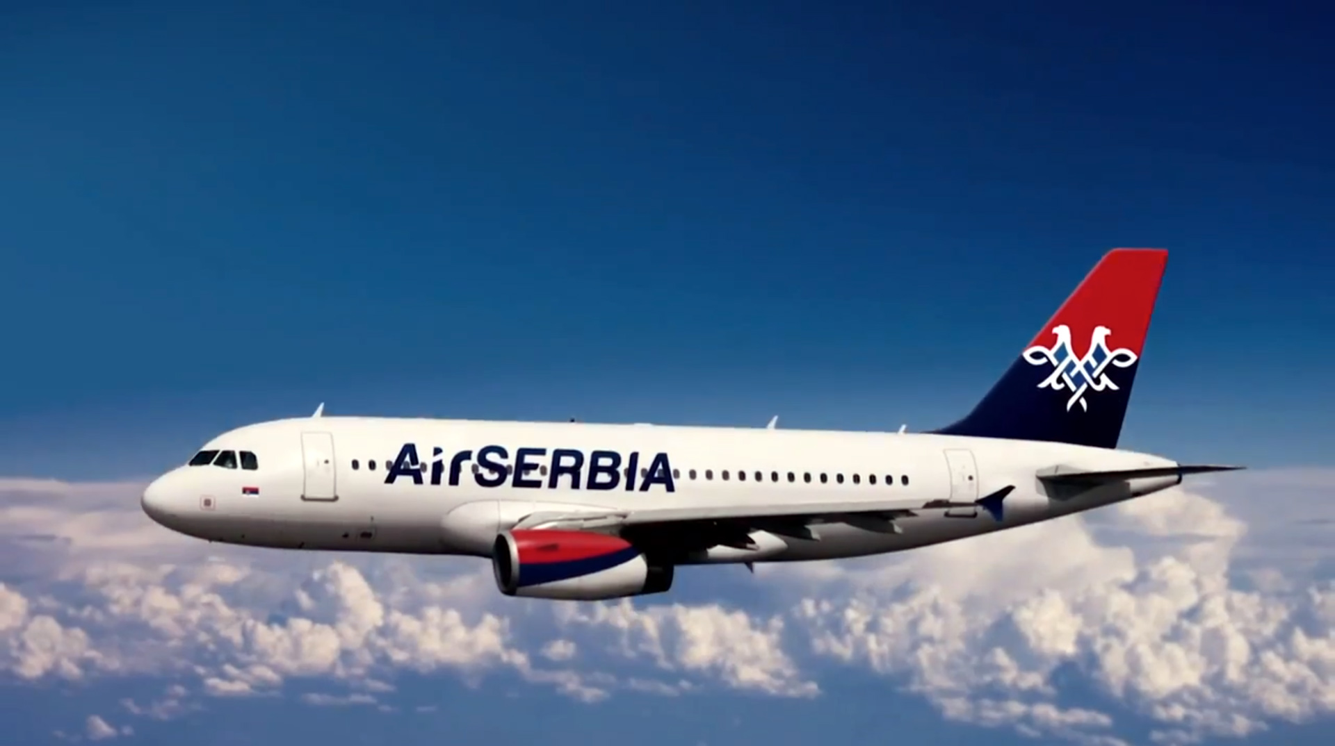 Serbia opened passenger airline service