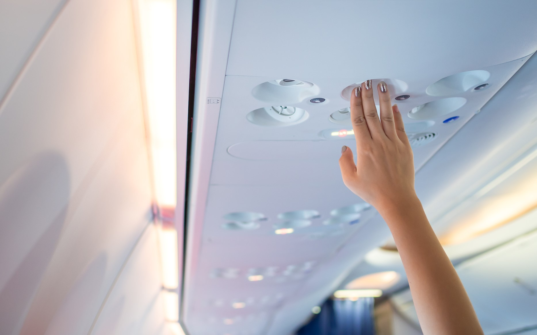 Now in Airbus airplanes the air protects against virus