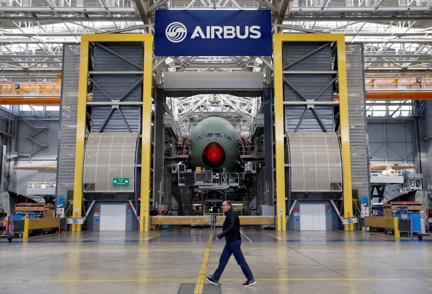 The Head of Airbus is working on plan for company restructuring on the against the background of pandemic
