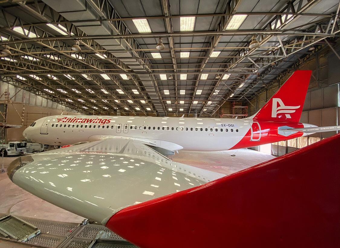 Romanian start-up Animawings received first airplane Airbus A320
