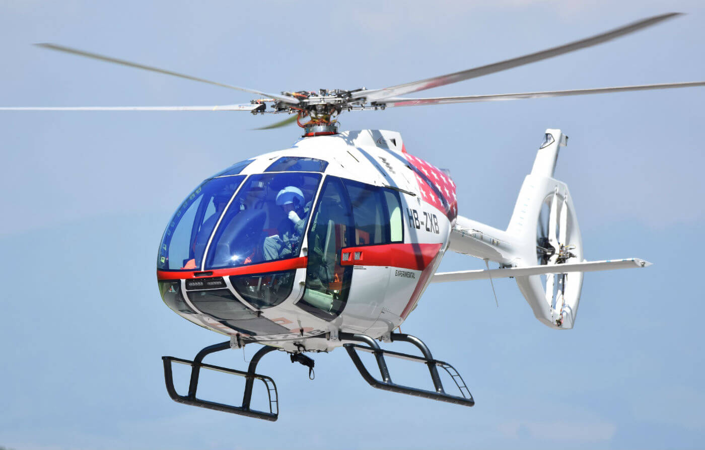 Airbus Helicopters began to deliver helicopters to customers remotely