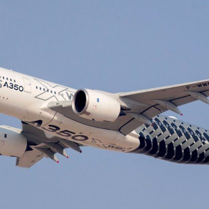 Airbus A350 has made fully automatic visual landing. Part 1