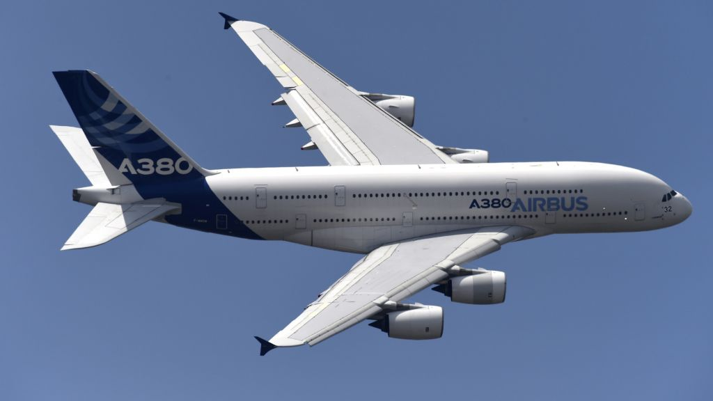 """Airline Company Hi Fly showed first in the world """"cargo"""" Airbus A380"""