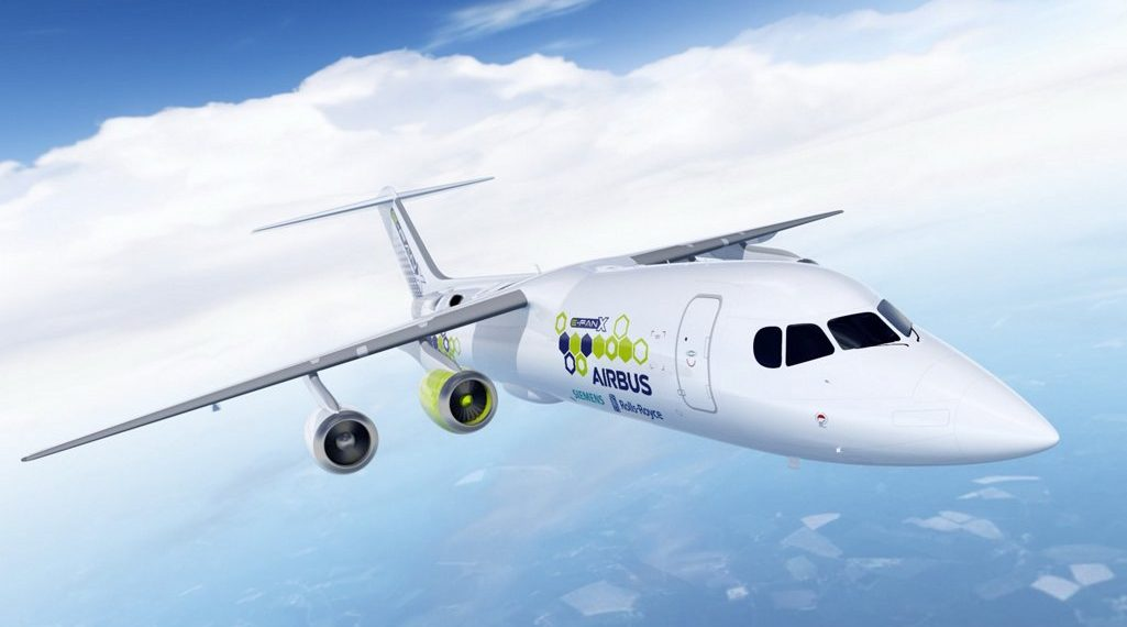 Airbus presented three designs of the airplane with hydrogen engine. Part 2