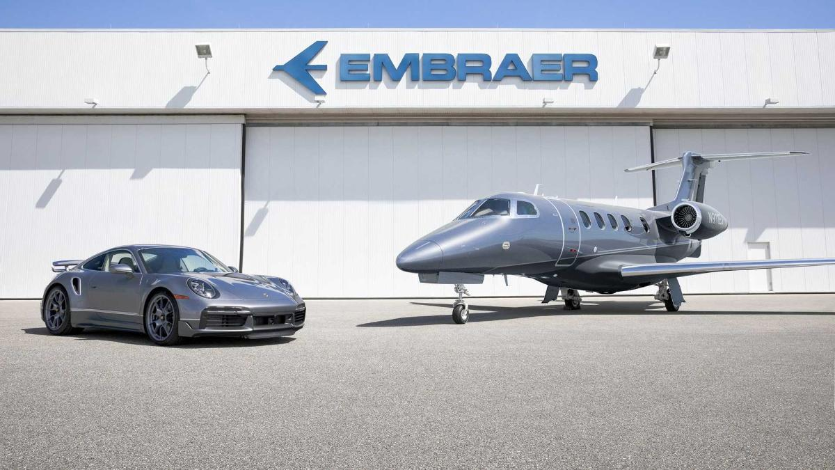 Embraer and Porsche cooperate to launch limited edition Duet. Part 1