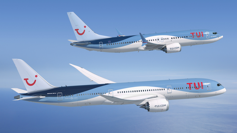 TUI signed agreement for sale and leaseback of the new Boeing 737 MAX 8 for 90 million USD