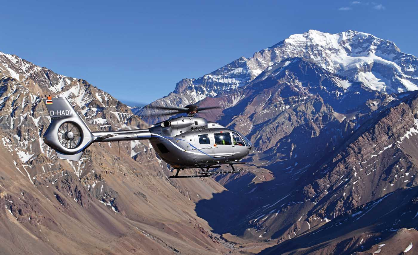 New five-bladed helicopter Airbus H145 was FAA certified