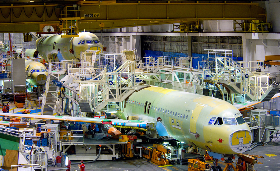Airbus for the 2nd year in a row became the biggest manufacturer of the airplanes in the world