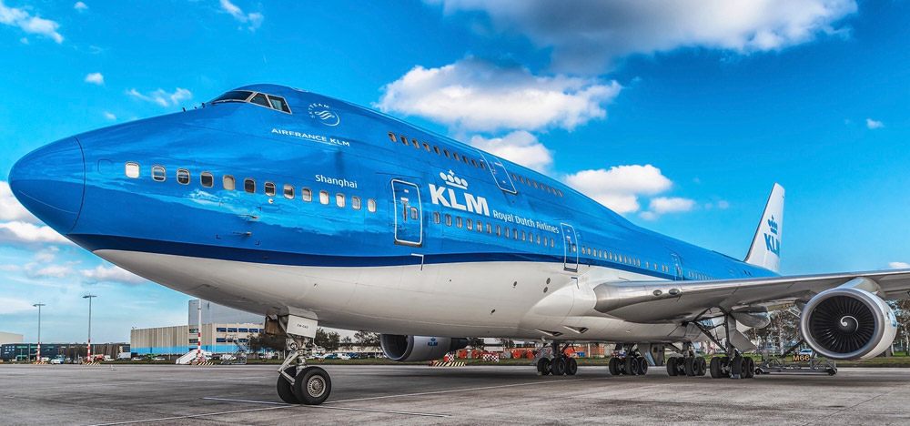 Airline company KLM will suspend long-haul flights because of coronavirus measure