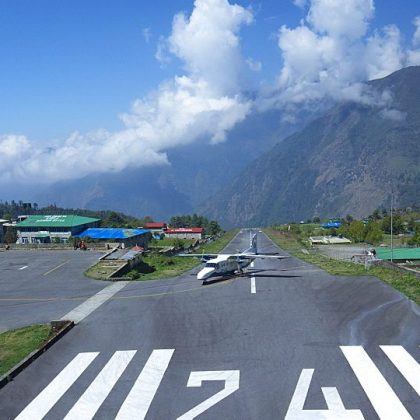 How the most dangerous airports in the world look like?