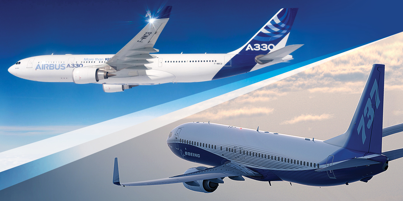 European Union and USA ended Boeing and Airbus trade dispute of many years