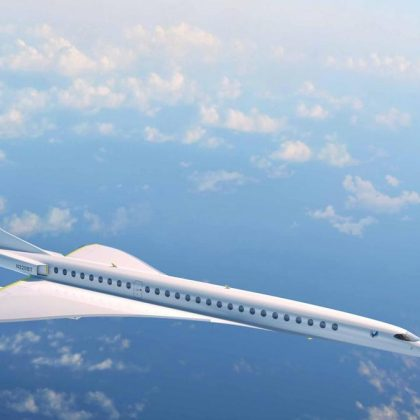 Airline company United will acquire 15 supersonic passenger airplanes