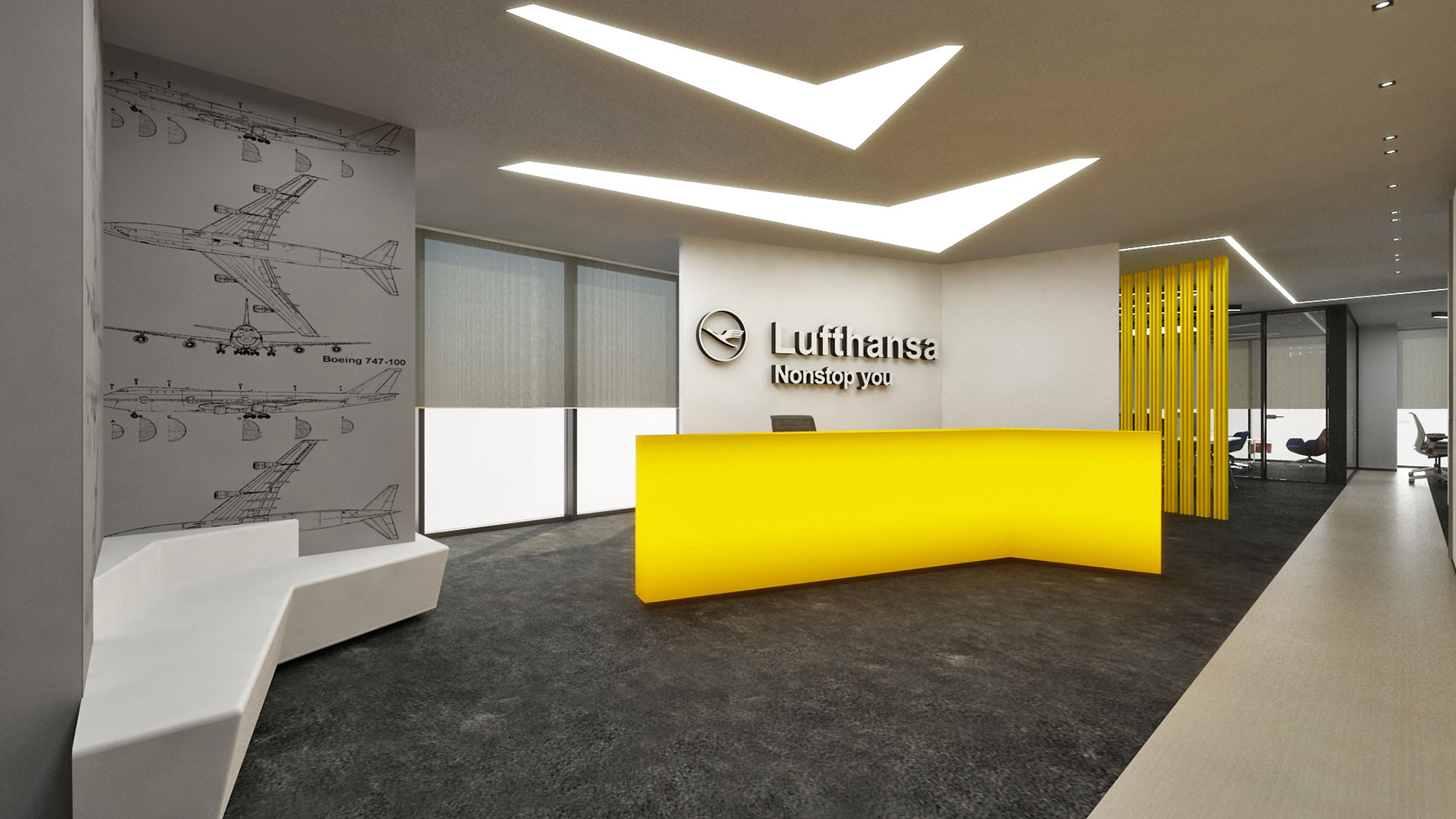 Lufthansa net loss in the 2nd quarter reduced twice