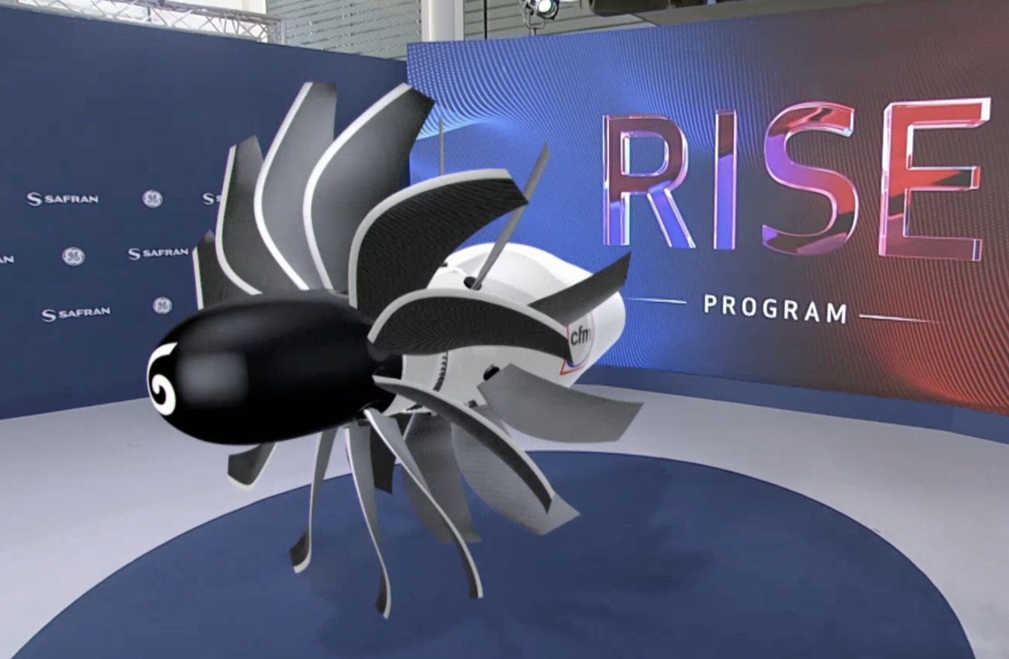 Project of CFM engine with open rotor is aimed to advanced developments of both companies Airbus and Boeing