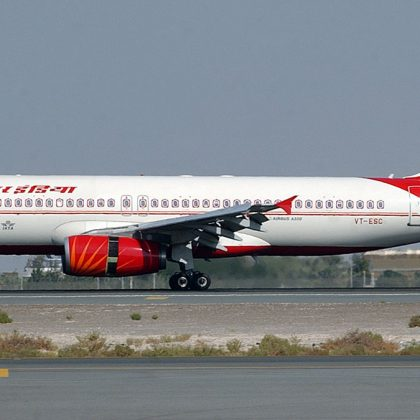 Indian national airline company Air India was sold for 2.4 billion USD