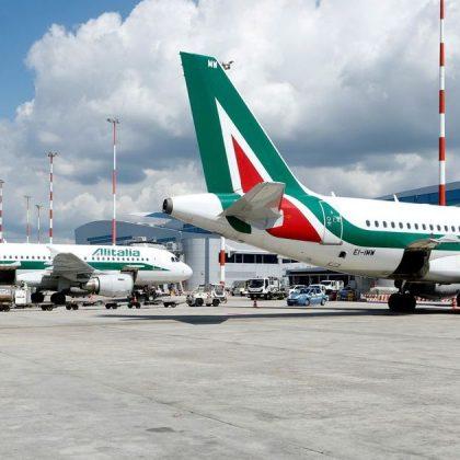 The biggest Italian airline company Alitalia went into liquidation